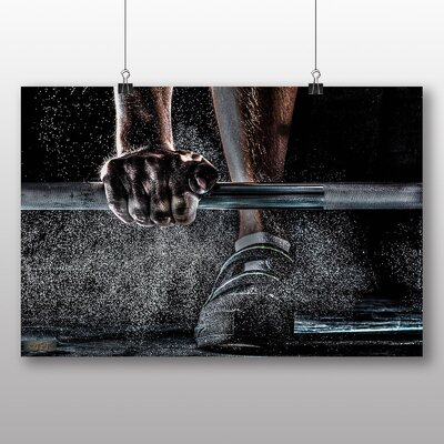 Big Box Art Body Building Fitness Weights Photographic Print