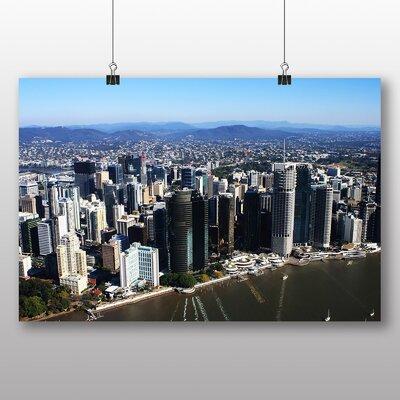 Big Box Art Brisbane Australia Photographic Print Wrapped on Canvas