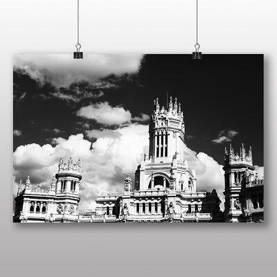 Big Box Art Bruges Council Belgium Photographic Print