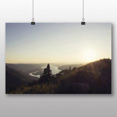 Big Box Art Beautiful Landscape No.2 Photographic Print on Canvas