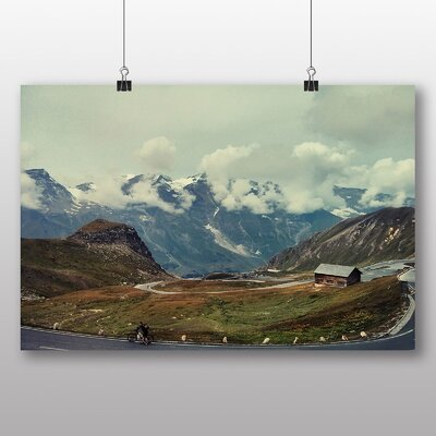 Big Box Art 'Clouds and Alps Austria' Photographic Print