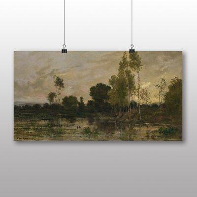 Big Box Art 'Landscape No.11' by Charles Francois Daubigny Art Print