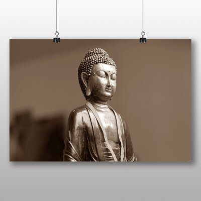 Big Box Art Buddha No.5 Photographic Print on Canvas