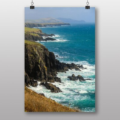 Big Box Art Coast Shore Cliffs Beach No.5 Photographic Print