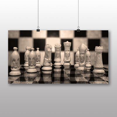 Big Box Art Chess Board No.1 Photographic Print on Canvas