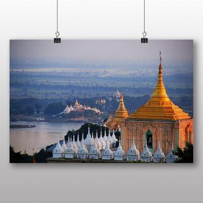 Big Box Art Burma Temple Photographic Print on Canvas
