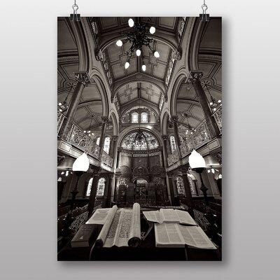 Big Box Art Brighton Synagogue No.3 Photographic Print on Canvas