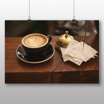 Big Box Art Coffee Shop Photographic Print on Canvas
