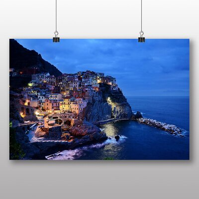 Big Box Art Cinque Terre Italy No.2 Photographic Print on Canvas