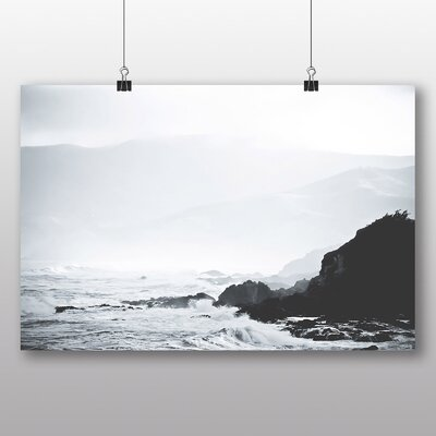 Big Box Art 'Choppy Sea' Photographic Print