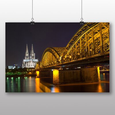 Big Box Art Cologne Germany Photographic Print Wrapped on Canvas