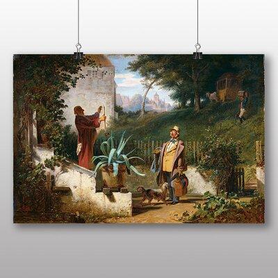 Big Box Art 'Jugendfreunde' by Carl Spitzweg Art Print