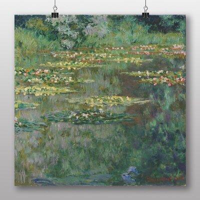 Big Box Art 'Le Bassin des Nympheas' by Claude Monet Art Print