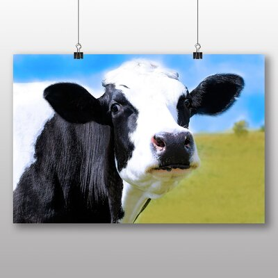 Big Box Art Cow No.5 Photographic Print Wrapped on Canvas