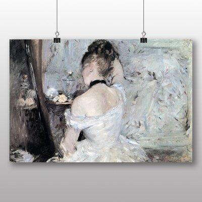 Big Box Art 'Young Woman at the Mirror' by Berthe Morisot Art Print