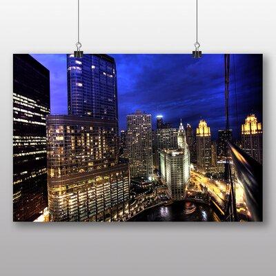 Big Box Art 'City in the Night' Photographic Print