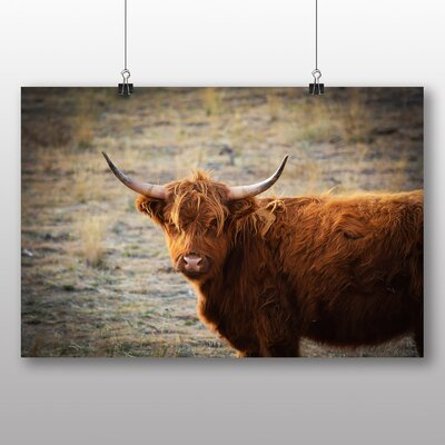 Big Box Art Cow No.6 Photographic Print Wrapped on Canvas