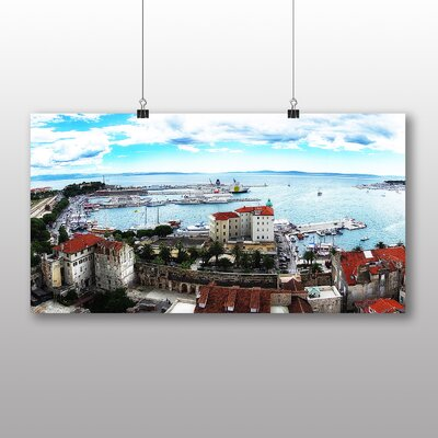 Big Box Art Croatia Landscape No.1 Photographic Print on Canvas