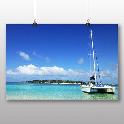 Big Box Art Catamaran Mauritius Photographic Print on Canvas