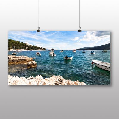 Big Box Art Croatia Landscape No.2 Photographic Print Wrapped on Canvas