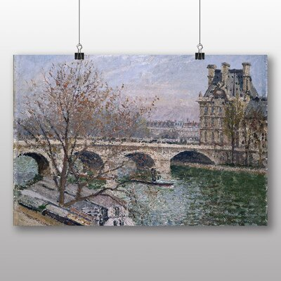 Big Box Art 'Bridge' by Camille Pissarro Art Print