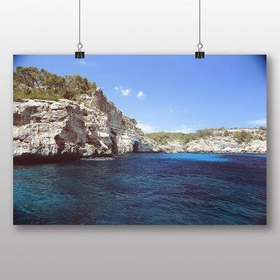 Big Box Art 'Cliff Coast' Photographic Print