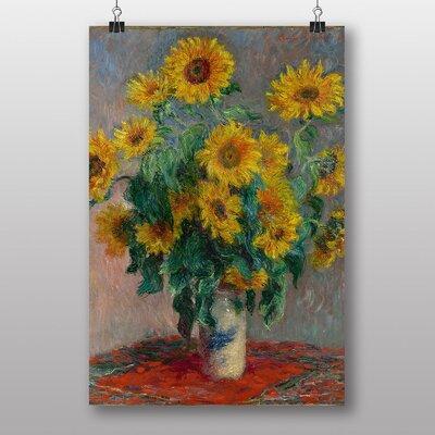 """Big Box Art """"Bouquet of Sunflowers"""" by Claude Monet Art Print"""