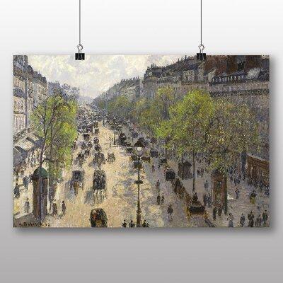 Big Box Art 'Boulevard Montmartre in Primavera' by Camille Pissarro Art Print
