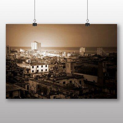 Big Box Art Cuba Skyline No.2 Photographic Print on Canvas