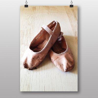Big Box Art Ballet Shoes No.1 Photographic Print