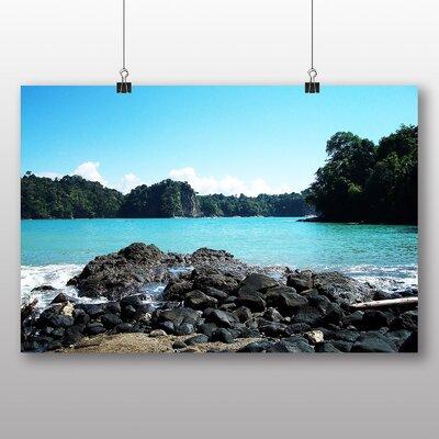 Big Box Art Costa Rica Landscape Photographic Print Wrapped on Canvas