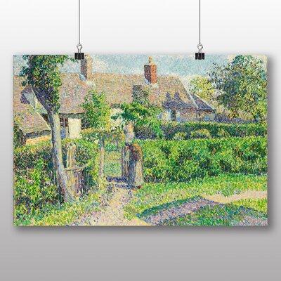 Big Box Art 'Peasants Houses' by Camille Pissarro Art Print