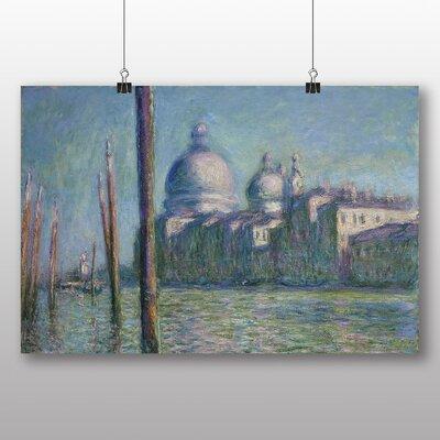 Big Box Art 'Le Grand Canal, Venice' by Claude Monet Art Print