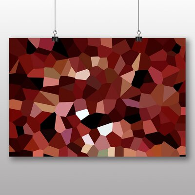 Big Box Art Crystallise Abstract No.3 Graphic Art on Canvas