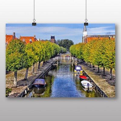Big Box Art Canal Barge Photographic Print