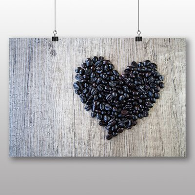 Big Box Art Coffee Beans No.3 Photographic Print