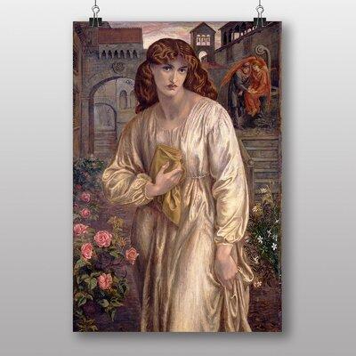 "Big Box Art ""Salutation of Beatrice"" by Dante Gabriel Rossetti Art Print"