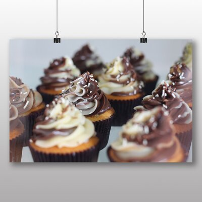Big Box Art Cupcakes No.1 Photographic Print Wrapped on Canvas