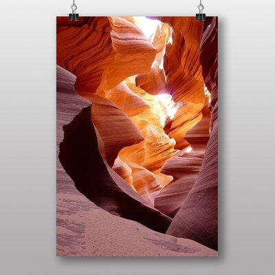 Big Box Art Canyon Sandstone No.4 Photographic Print