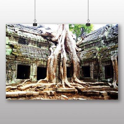 Big Box Art Cambodia Ruins Photographic Print on Canvas