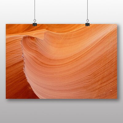 Big Box Art Canyon Sandstone No.7 Graphic Art Wrapped on Canvas