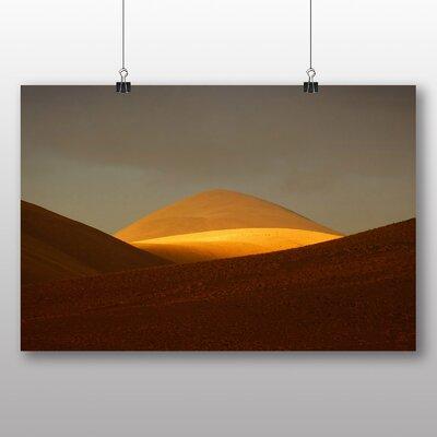 Big Box Art Desert Sand Dune No.3 Photographic Print on Canvas