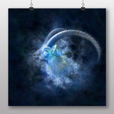 Big Box Art Capricorn Astrology Zodiac Graphic Art