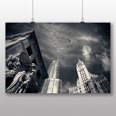 Big Box Art Chicago USA Photographic Print