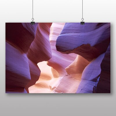 Big Box Art Canyon Sandstone No.5 Photographic Print Wrapped on Canvas