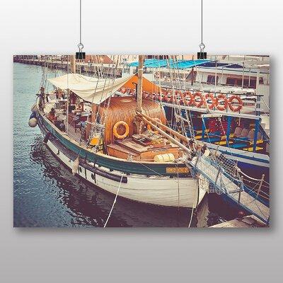 Big Box Art 'Docked Fishing Boat' Photographic Print
