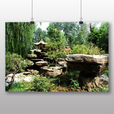 Big Box Art China Landscape No.1 Photographic Print Wrapped on Canvas