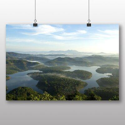 Big Box Art Dalat Vietnam Landscape Photographic Print on Canvas