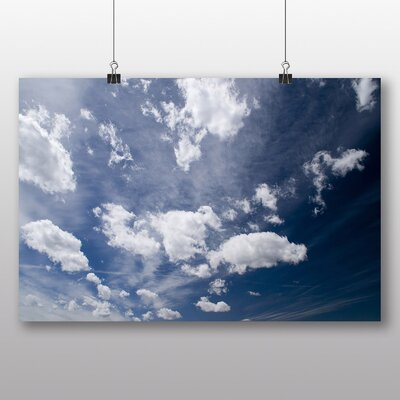 Big Box Art 'Blue Sky and Clouds' Photographic Print