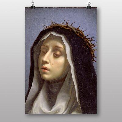 "Big Box Art ""Catherine of Siena"" by Carlo Dolci St. Art Print"
